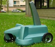vision guided robotic lawn mower